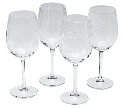 Mikasa Cheers 16-Ounce White Wine, Set Of 4