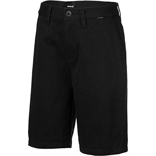 Hurley BWS0000200 Boys One And Only Chino Walkshorts,Black,27
