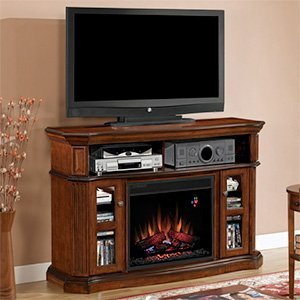"Classicflame Aberdeen 23"" Electric Fireplace Mantel In Cocoa Cherry - 23Mm1297-C259"