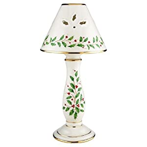 Amazon Com Lenox Holiday Candlestick Lamp Candle Lamps