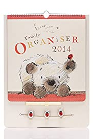 Bear & Bird 2014 Family Organiser [T21-3500A-S]
