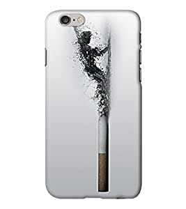 Go Yankee man in cigarette Back Cover for Iphone 6 Plus