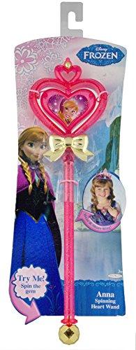 Disney Frozen Princess Anna Spinning Heart Wand - 1