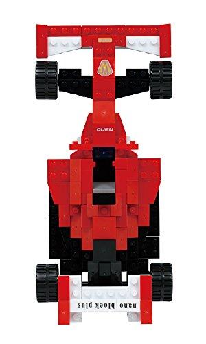 nanoblock纳米块乐高积木艺术方程式赛车