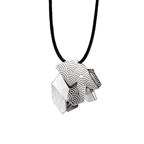 kosha schmuck elefant origami gross edelstahl. Black Bedroom Furniture Sets. Home Design Ideas