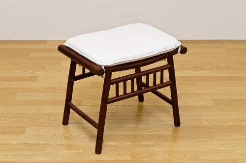 食卓チェア チェア バンブー 家具 竹 玄関先などちょっとした腰掛けに便利なスツール!