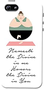 DailyObjects Namaste Quote Case For iPhone 5/5S