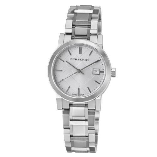Burberry Women's BU9100 Large Check Stainless Steel Bracelet Watch