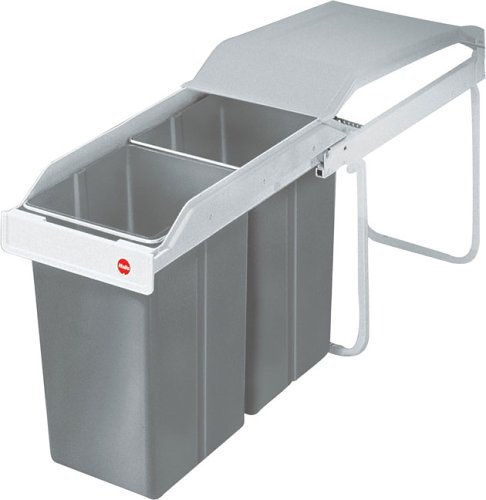 White Multi-Box Built-in Waste Separation System