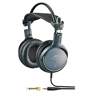 JVC HARX700 Precision Sound Full Size Headphones – Black