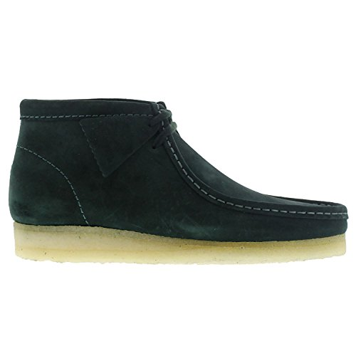clarks-originals-mens-wallabee-green-suede-boots-445-eu
