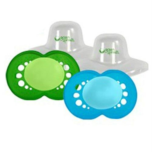 Green Sprouts Pacifier - Boy 6 to 18 months - 2 pack - 1529056 - 1
