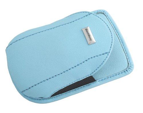 Blackberry 7200 Series Leather Swivel Holster  (Power Blue)