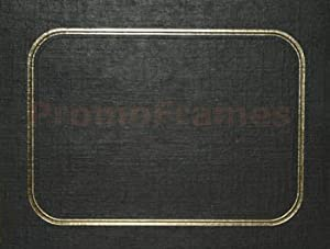 HICKORY EASEL BLACK/GOLD 5x7 Cardboard Picture Holders