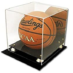 BCW Deluxe Acrylic Basketball Display with Mirror