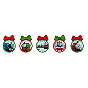 Thomas and Friends Christmas Tree Ornament Set - 5-pack