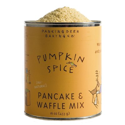 Dancing Deer Baking Co.- Pumpkin Spice Pancake & Waffle Mix, Old Fashioned, 16 oz (Pack of 2)