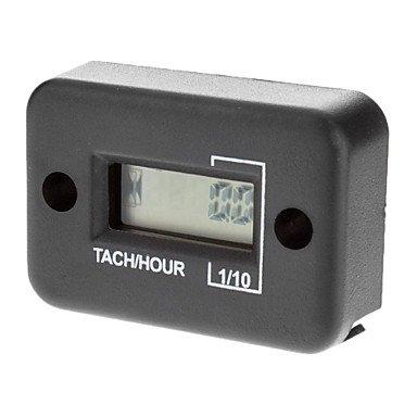 Commoon Waterproof Lcd Screen Display Tachometer Hour Meter For 2 Stroke Motorcycle Engine