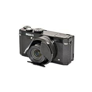 Rainbowimaging LCMX1B Self-Retaining Auto Open Close Lens Cap for Pentax MX-1 Camera (Black)