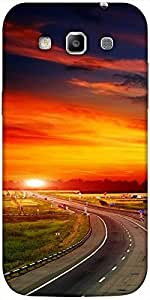 Snoogg The Way to Sunset Hard Back Case Cover Shield For Samsung Galaxy Grand Quattro Win I8550