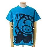 (ぶーでんしょうてん)豊天商店 美豚(びぶた)シリーズ 海豚のごとくスラブ天竺半袖Tシャツ BU1112249