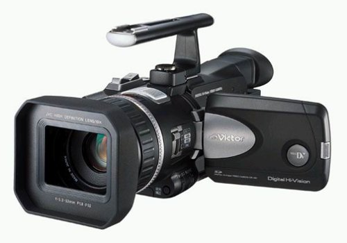 JVC GRH-D1 High Definition MiniDV Camcorder w/10x Optical Zoom