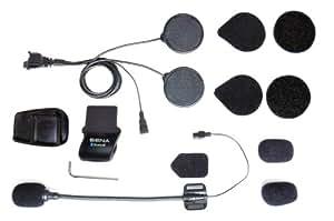 Sena SMH5-A0311 Ensemble de Pince SMH5 pour Casque avec Verrouillage Microphone Amovible
