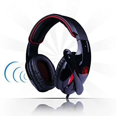 Sades 7.1 Surround Sound USB Stereo Universal Gaming Headset Headphone Earphone