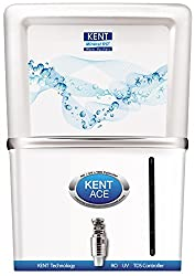 Kent Ace Mineral 7-Litre 60-Watt RO+UV Water Purifier (White and Aquamarine)