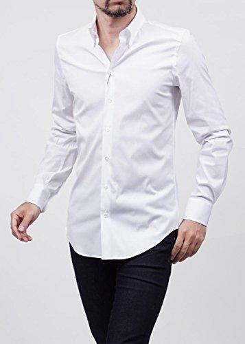 (ジョルジオアルマーニ) GIORGIO ARMANI ドレスシャツ ホワイト [並行輸入品]