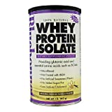 100% Natural Whey Protein Isolate Powder Natural French Vanilla Flavor - 1 Lb.