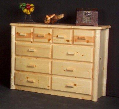 Viking Log Furniture Northwoods 10 Drawer Chesser