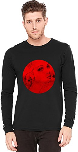 Woman Portrait A maniche lunghe T-shirt Long-Sleeve T-shirt | 100% Preshrunk Jersey Cotton Large