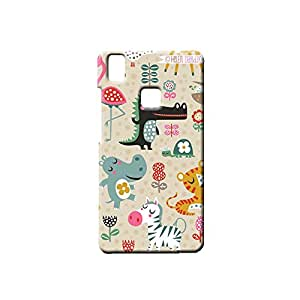 G-STAR Designer Printed Back case cover for VIVO V3 - G7597