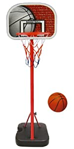 Buy Junior Portable Basketball System Hoop Stand by Kings Sport