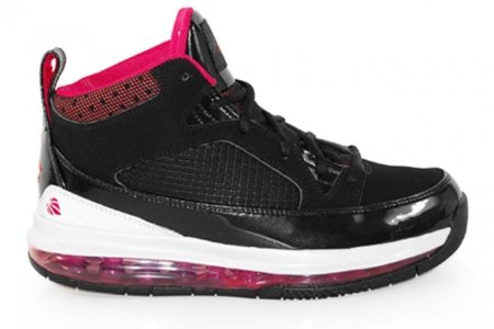 Girls Air Jordan Flight 9 Max RST (GS) Black Cherry White