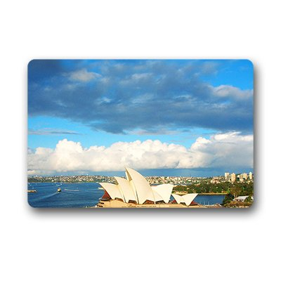 "Dalliy sydney opera house Zerbino Personalizzato Doormat 23.6""x15.7"" about 59.9cmx39.8cm"