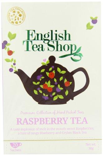 English Tea Shop Raspberry Tea Super Tea 20 Sachet Tea Bags  (Pack of 3)