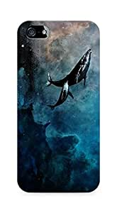 Amez designer printed 3d premium high quality back case cover for Apple iPhone 5s (whale ocean )