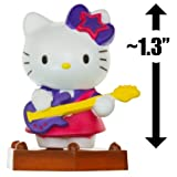 "Hello Kitty Guitar Player ~1.3"": Hello Kitty Mini-Figure Collection Series #1"