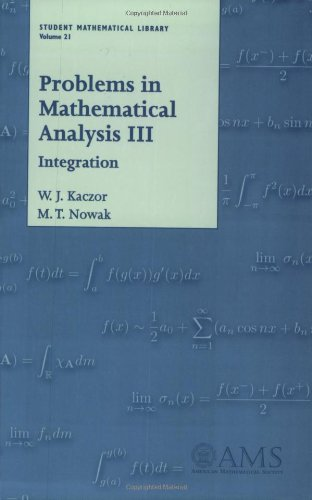 Problems in mathematical analysis 3. Integration