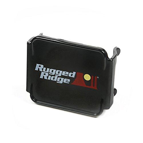 """Rugged Ridge 15210.48 Black 3"""" Led Light Cover Kit"""