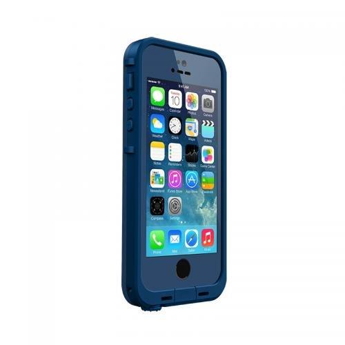 日本正規代理店品・保証付LIFEPROOF 防水防塵耐衝撃ケース LifeProof iPhone5/5s Fre Dark Blue/Blue 2115-05