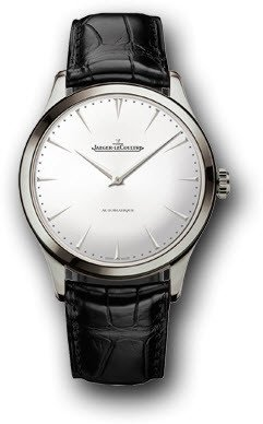 Jaeger LeCoultre Master Ultra Thin Automatic Stainless Steel Mens Watch Q1338421