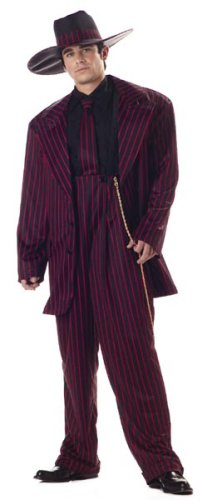 Adult Zoot Suit Costume (Size:Medium 40-42)