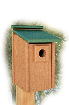 recycled birdhouses