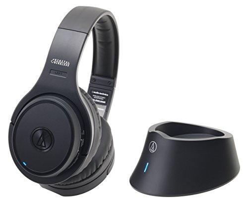 audio-technica 密閉型ワイヤレスヘッドホンシステム ブラック ATH-DWL500 BK