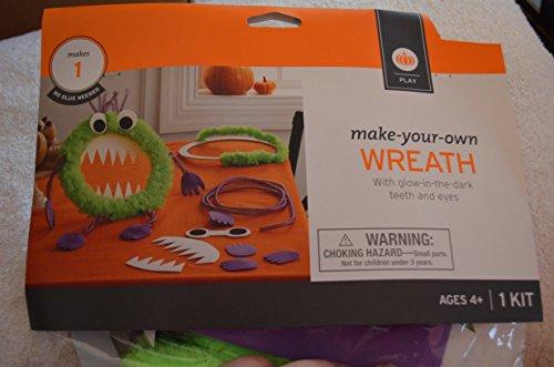 Make Your Own Monster Wreath Set NIP Halloween Wreath (Make Your Own Wreath compare prices)