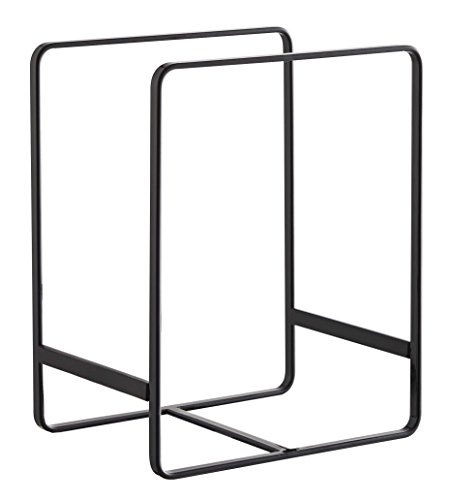 Dish Rack Tower Plate Organizer Stand for Large and Medium Size in Black (Dish Storage Display compare prices)
