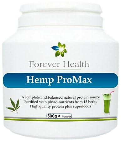 Hemp Pro Max - Pflanzlicher Biologischer Gruner Protein Shake - Aus Naturlichen Bio Hanf Proteinen Und 15 Weiteren Supernahrungen hergestellt, die Vitamine, Mineralstoffe und Nährstoffe enthalten in einem gesunden und grunen Protein Shake ! Herbal un